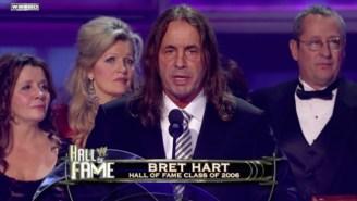 Bret Hart Reveals He's Battling Cancer In An Emotional Facebook Post