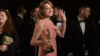 Brie Larson Hugged Every Sexual-Assault Survivor Who Appeared With Lady Gaga At The Oscars