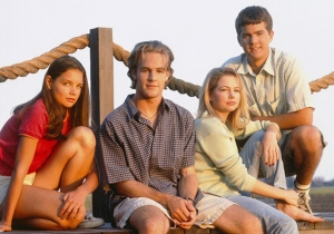Katie Holmes Is Probably Tired Of You Asking About A 'Dawson's Creek' Reunion