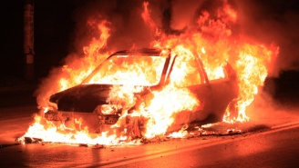 Watch This Guy Have An Understandable Freakout When His Mercedes Explodes A Week After Buying It