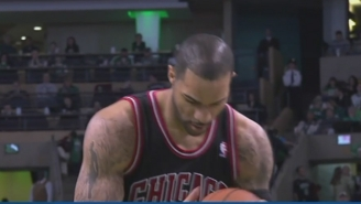 It's Been Four Years Since Carlos Boozer Sprayed On Fake Hair