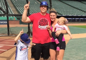 Watch A Rangers Fan Hit A Home Run To Win Season Tickets For His Family