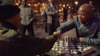 Chess Hustler Doesn't Realize He's Going Up Against A Grandmaster, Gets Served