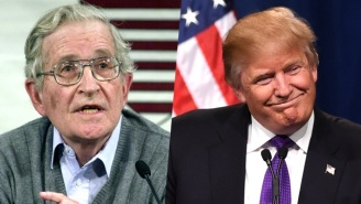 Noam Chomsky Likens Donald Trump's Ascent To The 'Societal Breakdown' That Spawned Hitler