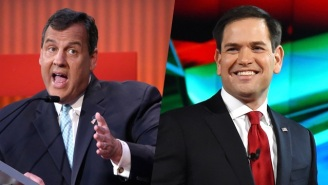 Chris Christie Pooh-Poohs Marco Rubio's Iowa Surge With A 'Time To Man Up' Challenge
