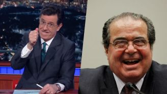 Stephen Colbert Paid Tribute To Antonin Scalia With A Great Story About His Sense Of Humor