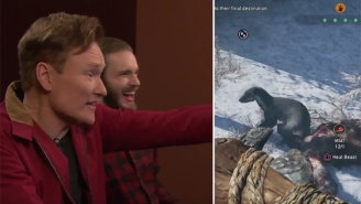 Conan And PewDiePie Have Too Much Fun Abusing Animals In 'Far Cry Primal' For 'Clueless Gamer'