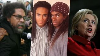 Cornel West Compares Hillary Clinton To Milli Vanilli For Her 'Lip Service' To African-American Voters