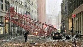A Massive Crane Collapsed In Lower Manhattan, Killing At Least One And Injuring Several