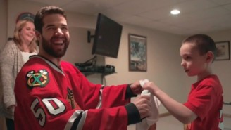 This Young Fan Got A Special Surprise From The Blackhawks That Will Warm Your Heart