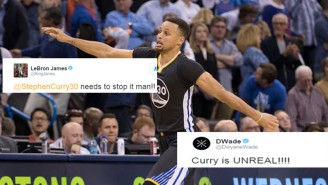 NBA Stars Were In Awe Of Steph Curry's Mesmerizing Performance Against The Thunder