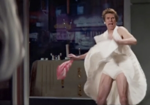 Things Get Weird In This Snickers 'You're Not Yourself' Super Bowl Commercial With Willem Dafoe