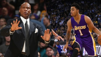 Byron Scott And A Clippers Announcer Got Into A War Of Words Over D'Angelo Russell