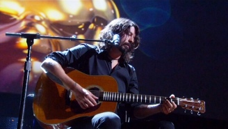 Dave Grohl Delivers A Poignant 'Blackbird' Cover During The Oscars In Memoriam Segment