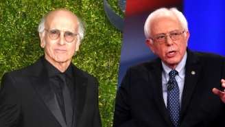 Bernie Sanders Finally Admits That He And Larry David Are The Same Person
