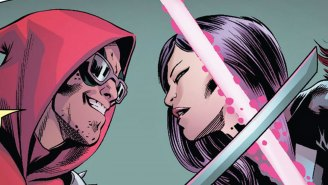 Watch as this sword fight between Psylocke and Deadpool goes exactly as you'd expect