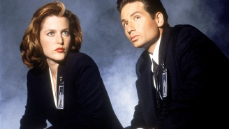 A timeline of Gillian Anderson and David Duchovny's 'X-Files' 'feud'