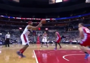 Jared Dudley Channels His Inner John Wall With A Series Of Fancy, Improvisational Passes