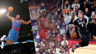 Enjoy This Incredible Supercut Of Every Perfect Jam In History Of The NBA Slam Dunk Contest