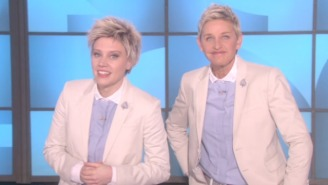 Kate McKinnon Drops By 'Ellen' To Say She's The Real Ellen