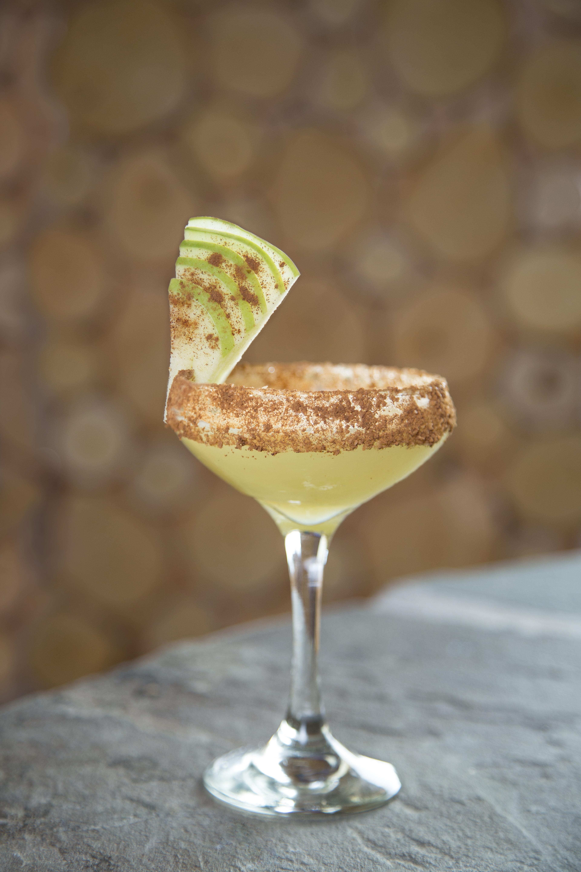 Embers Ski Lodge Spiced Apple Margarita cocktail 1