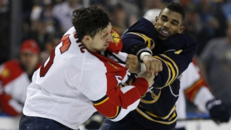 Evander Kane And Alex Petrovic Fought Three Separate Times In The Same Game