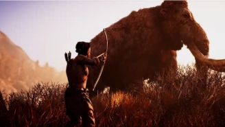 An Entire Team Had To Help Me Beat The 'Far Cry: Primal' Hands-On, And It Was Effing Awesome