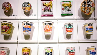 Get Ready For Shark Fin Cup Noodles Soup