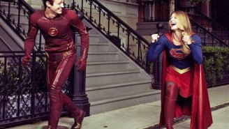 Supergirl's 'cameo' on 'The Flash' last night goes a long way to explaining the crossover