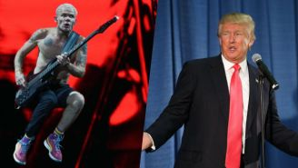 Flea From Red Hot Chili Peppers Had Some Fun Names For Donald Trump