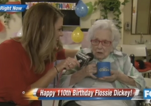This 110-Year-Old  Woman Gives The Best TV Interview Ever, Even If She'd Rather Not Be There