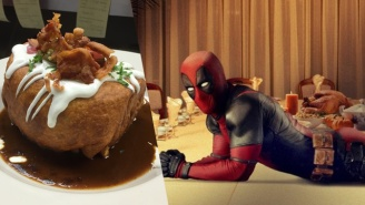 The Deadpool Poutine Chimichanga Is Real And It's The Most Amazing Thing You'll Ever Eat