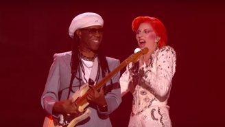 Nile Rodgers Comes To The Defense Of Lady Gaga's David Bowie Tribute At The Grammys