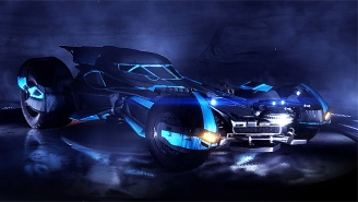 The Batmobile From 'Batman V Superman' Is Racing Its Way To 'Rocket League'