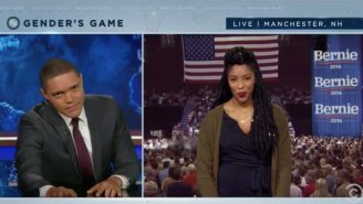 'The Daily Show' Gets Hot And Bothered By The Sexism Surrounding The Democratic Candidates