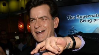 Charlie Sheen's Doctor Claims He Can Cure HIV With Arthritic Goat's Milk