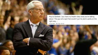 Roy Williams Trashes Basketball Analyst Doug Gottlieb In A Post-Game Press Conference