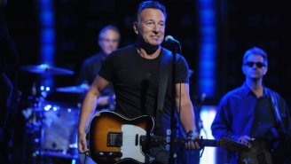 Bruce Springsteen Dabbed At A Concert