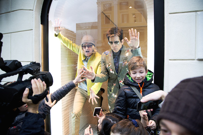 'Zoolander No. 2' Rome Stunt - January 31st