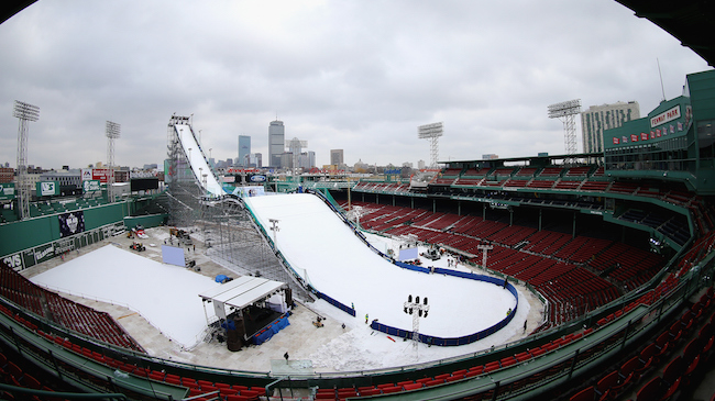Polartec Big Air at Fenway - Previews