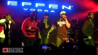 """Kidd Kidd Took Shots At Meek Mill And Gunplay At 50 Cent's """"The Kanan Tape"""" Concert"""