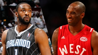 Gilbert Arenas Used A Desperate Tactic To Try And See Kobe Bryant's Last Game