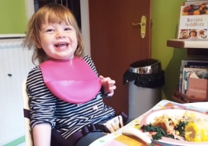 Nothing Is Funnier To This Little Girl Than Her Dad's Dumb Dad Joke