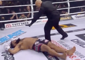 Glory Kickboxing Just Produced This Nasty Spinning Kick Knockout