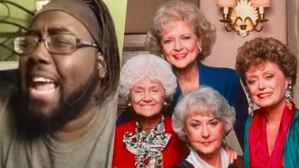 Watch This Man Turn The 'Golden Girls' Theme Into A Thing Of Pure, Tear-Inducing Beauty