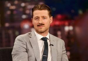 'Gotham's Ben McKenzie Tries On A Fancy Commissioner Gordon Mustache