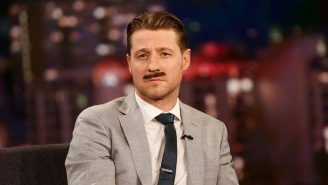 'Gotham's Ben McKenzie Tries On A Fancy Commissioner Gordon Mustache