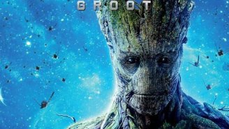 Awww look how cute Groot is in the first  'Guardians of the Galaxy 2' image!