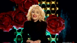 Gwen Stefani's Live Music Video For 'Make Me Like You' Is A Sight To See