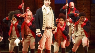 'Hamilton' slays at the Grammys as Lin-Manuel Miranda accepts an award in style